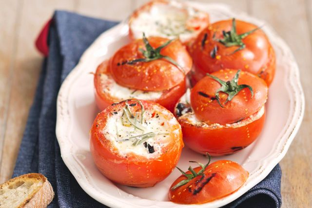 Grilled Stuffed Tomatoes Recipe - Kraft Canada