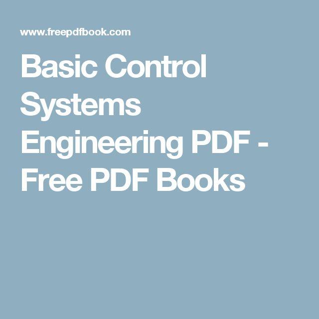 Basic Control Systems Engineering PDF - Free PDF Books