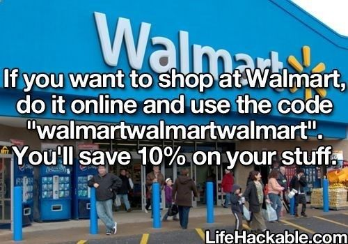 Many stores have the computers right there for you also, just ask:)) More Life Hacks here...