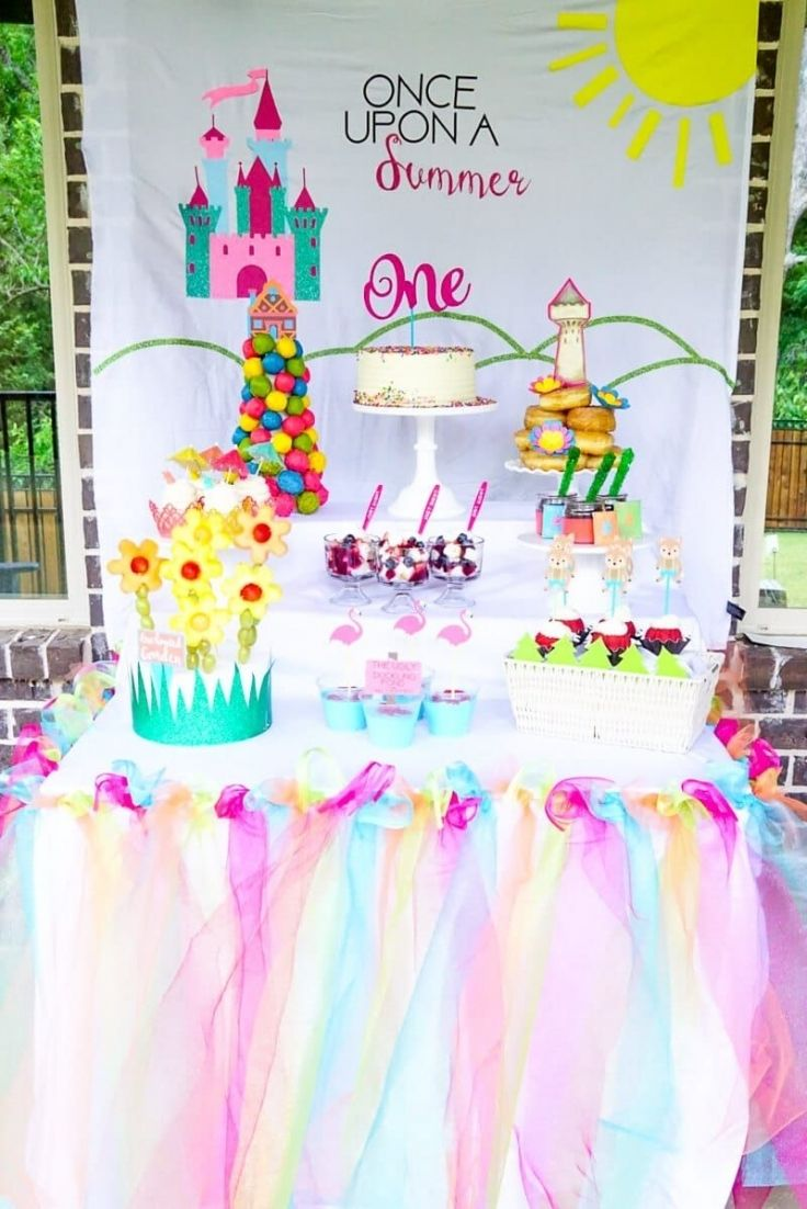 Once Upon A Summer First Birthday Party Ideas Birthday Pertaining To Brilliant 1 1 Year Old Birthday Party Birthday Party Locations Girls Birthday Party Themes