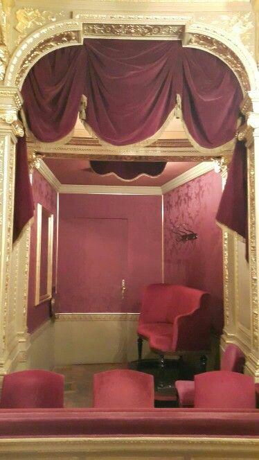 Palco.  Opera de Budapest
