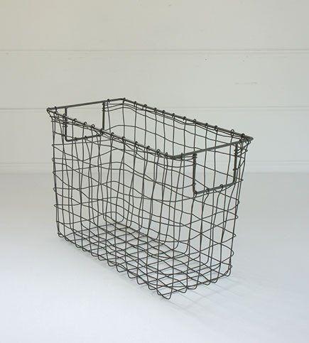 Fog Linen Basket | Grey Magazine