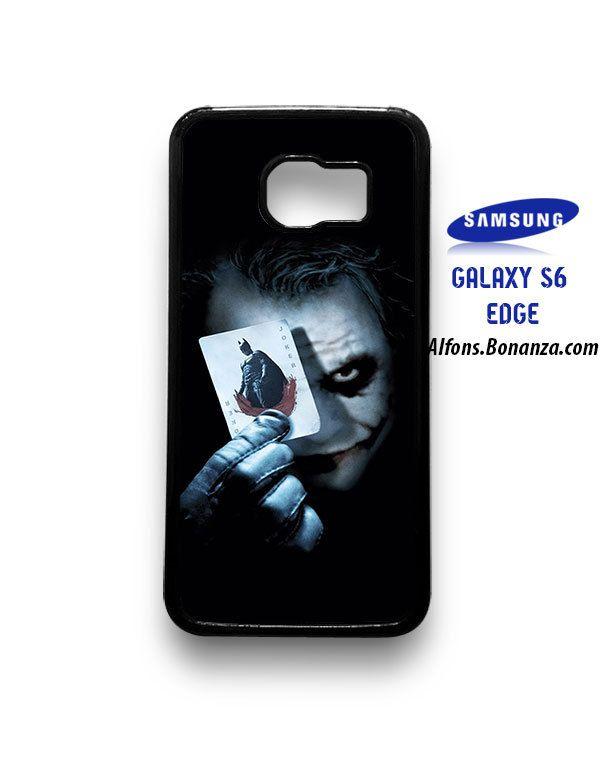 Batman Joker Card Samsung Galaxy S6 EDGE Case