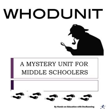 Middle School Ela Mystery Unit For Middle Schoolers Tpt Language