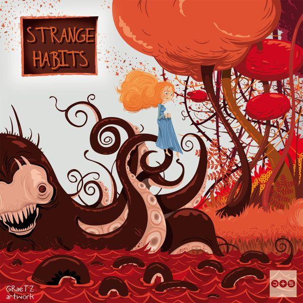 strange habits by Franck Graetz, via Behance