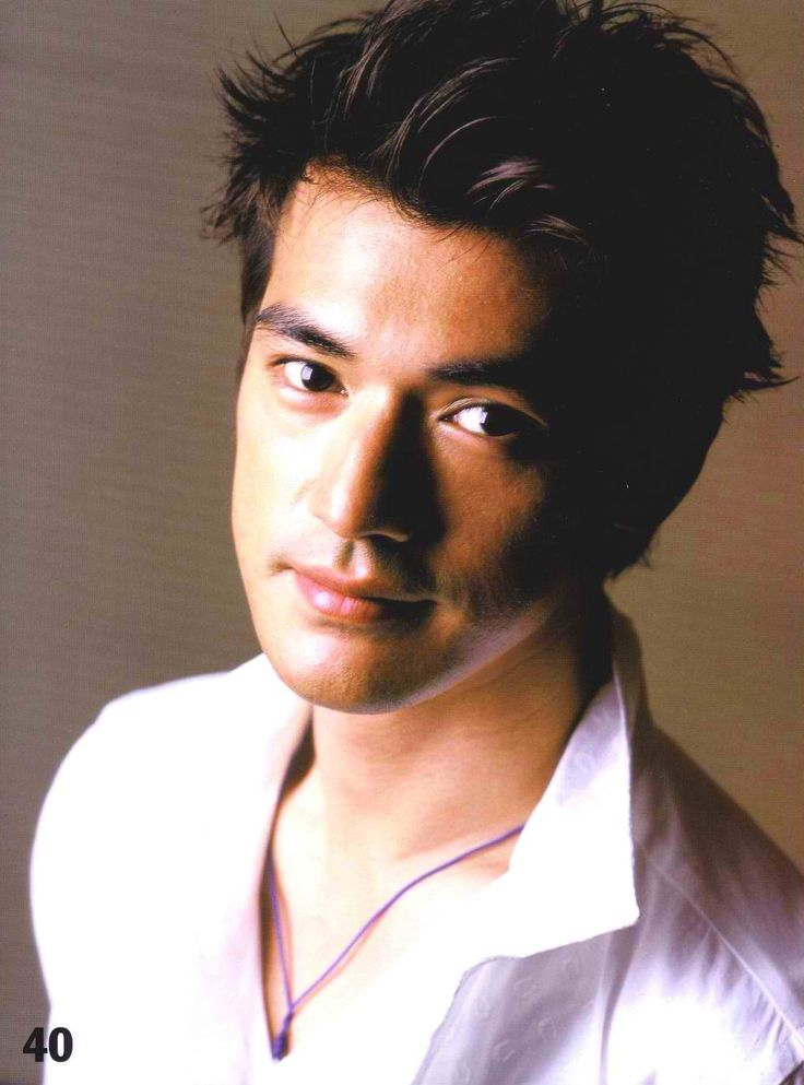 My optometrist looks like this :-)  Takeshi Kaneshiro in Vogue 2004.