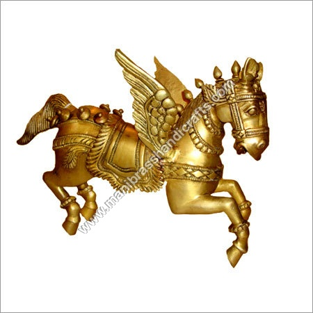 Horse Flying Wings Statue
