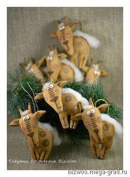 Коза, почти Дереза - текстильные и тканые изделия, авторские новогодниеи рождественские подарки. МегаГрад - мега-портал авторской ручной работы