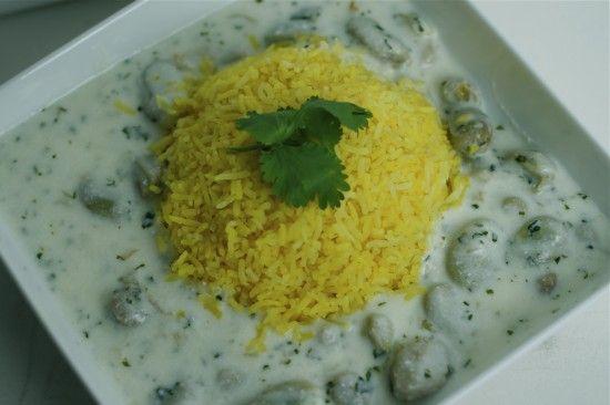 fava beans and yogurt | Food: MiddleEastern/Main Dishes | Pinterest