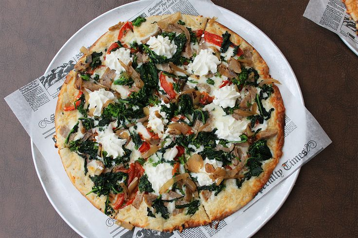 Have you had a chance to try our NEW Vesuvio Pizza?! It's layered with tasty toppings you will love!