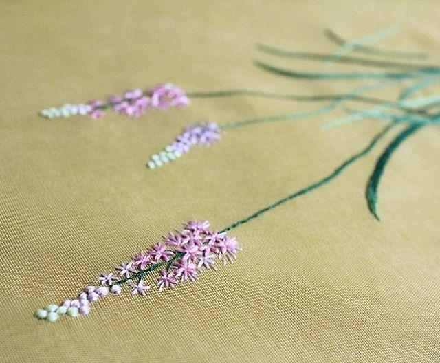 wildflower embroidery artist Juyeong Kim blog.naver.com/joo0575