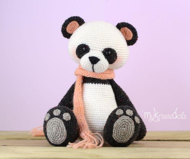 Amigurumi Panda Bear Crochet Pattern : Mijn kleine pandabeer haakpatronen knuffels en overig