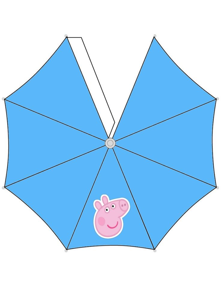 Free to use and free to share for personal use only. Peppa Pig Umbrella.