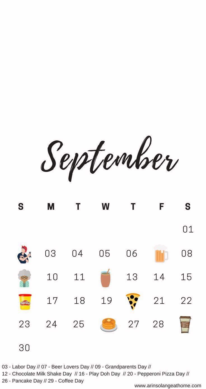 September National Days Calendar National Day Calendar National