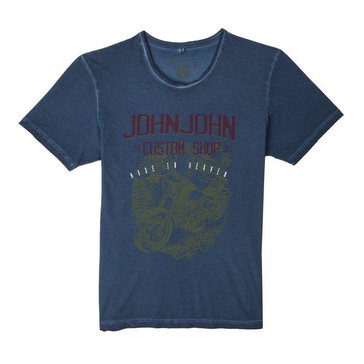 T-SHIRT CUSTOM SHOP JOHN JOHN DENIM | SHOP ONLINE | Compre a nova coleção pelo site oficial.