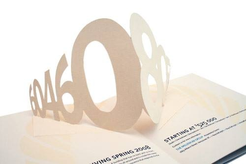 Sample of a Pop Out Brochure