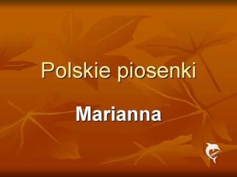 o Marianno - Polska piosenka - YouTube
