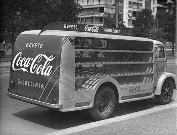 Coca-Cola Italian Delivery Truck
