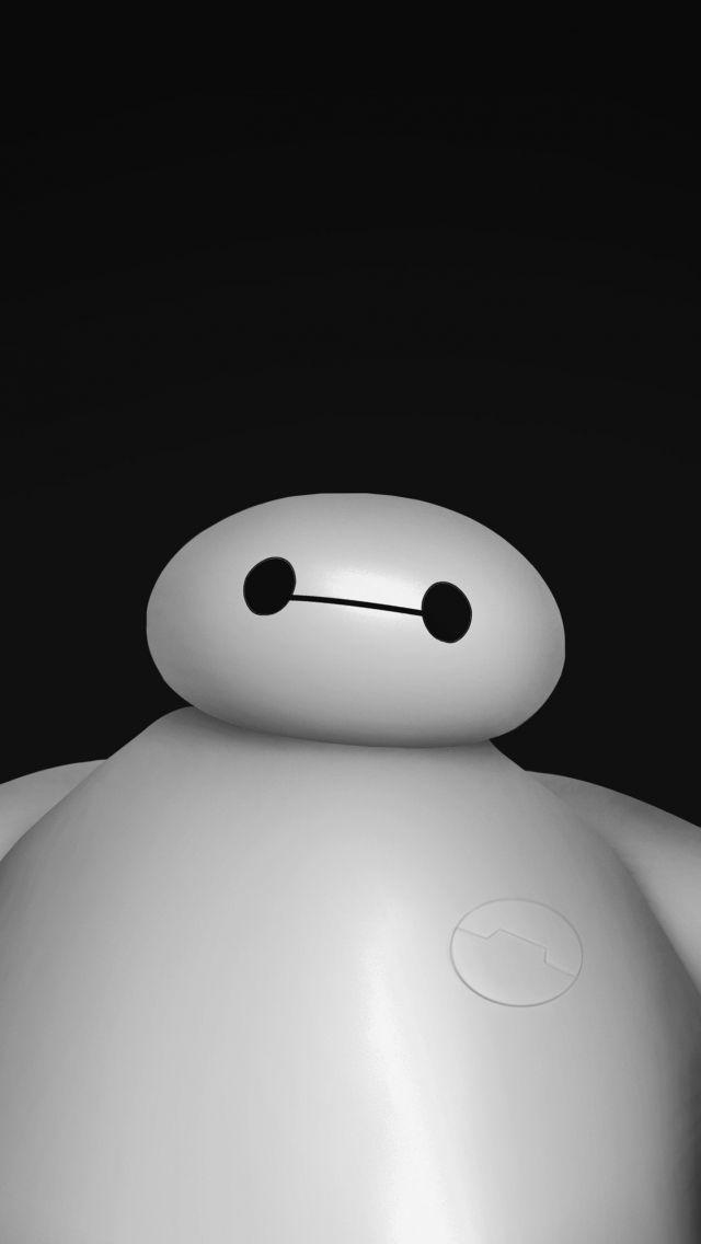 Download Free Hd Wallpaper From Above Link Baymax Bighero6 Robot Film Disney Ilustrasi Karakter Kartun Wallpaper Ponsel