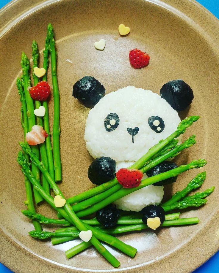 panda dinner by susie looi susielooi