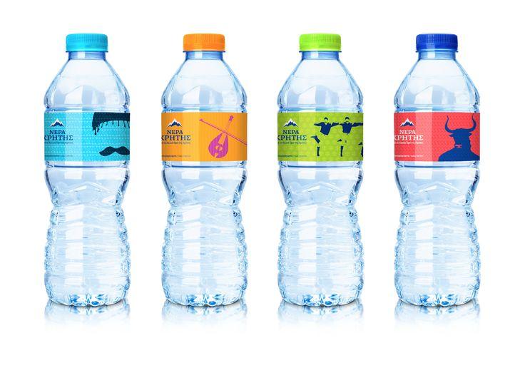 NERA KRITIS | LABEL FOR CRETAN WATER BOTTLE