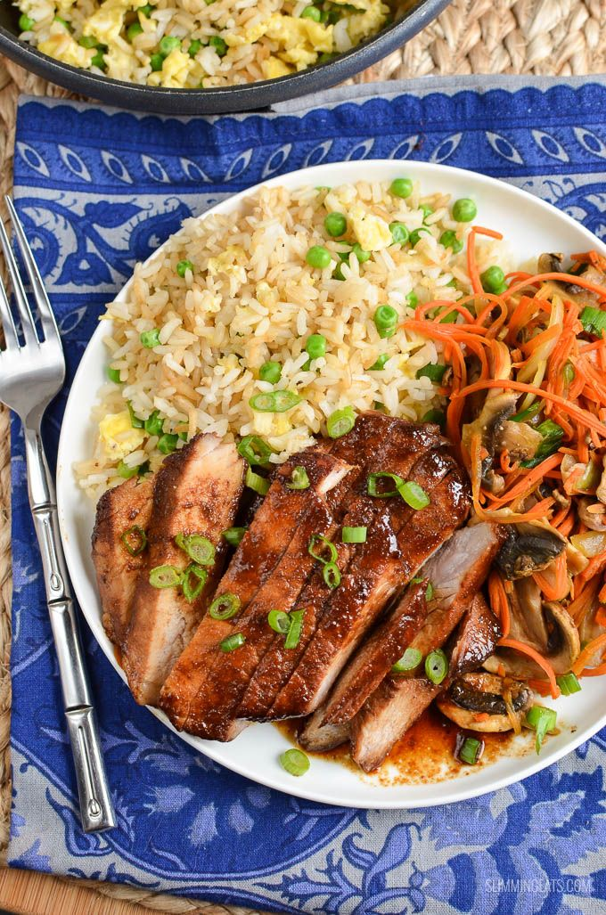Slimming Eats Low Syn Chinese Pork - gluten free, dairy free, Slimming World and Weight Watchers friendly - great a delicious Chinese meal in your own home.