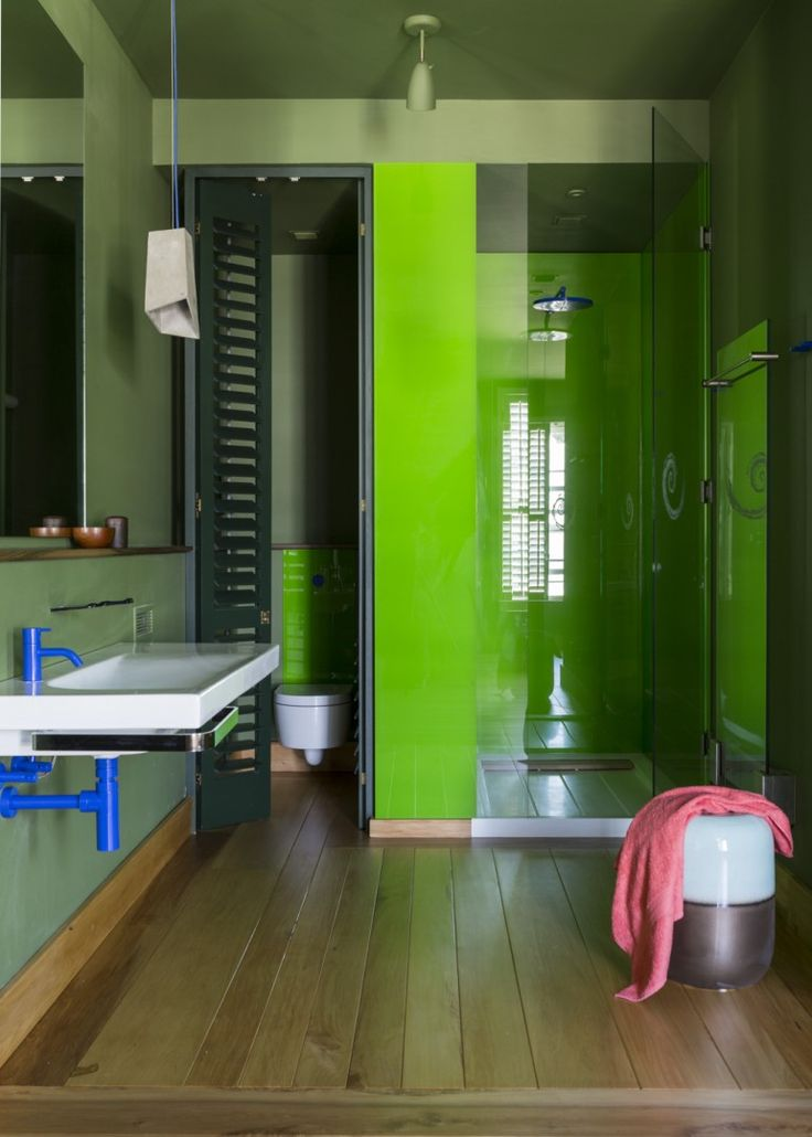 Alphen Awakened - Bathroom Ideas - fun and colourful - sanitaryware from Still - The bathroom Gallery