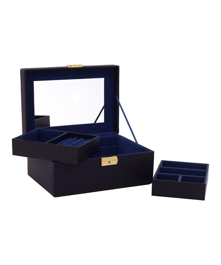 Black Brighton Small Jewelry Box