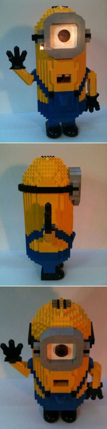 25 best ideas about lego minion on pinterest lego for Find me a builder