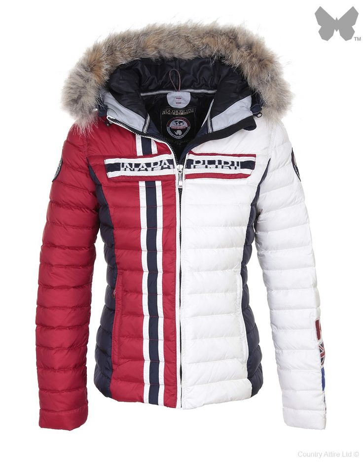 Please please PLEASE! I want this!!! Napapijri Ladies' Alesha Ski Jacket – Multicolour N0Y5FH | Country Attire