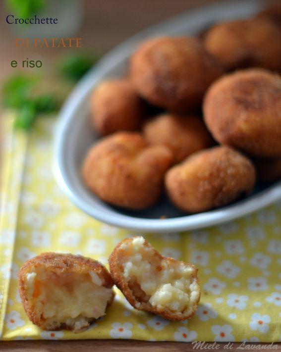 Crocchette di patate e riso