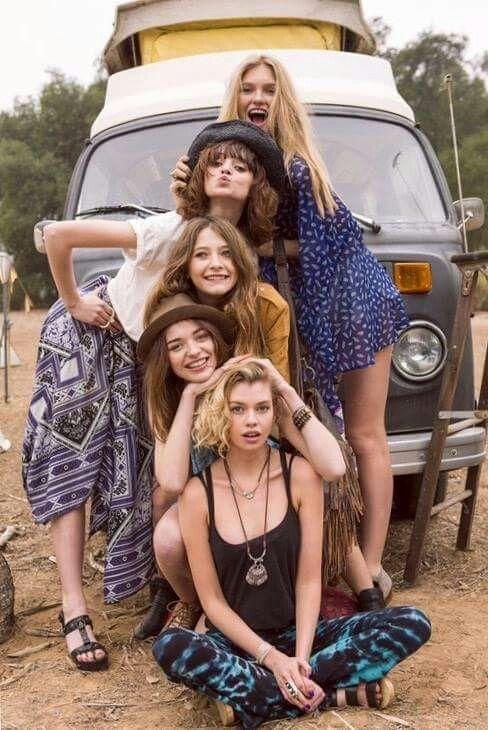 ☮ American Hippie Bohéme Boho Style ☮ Friends
