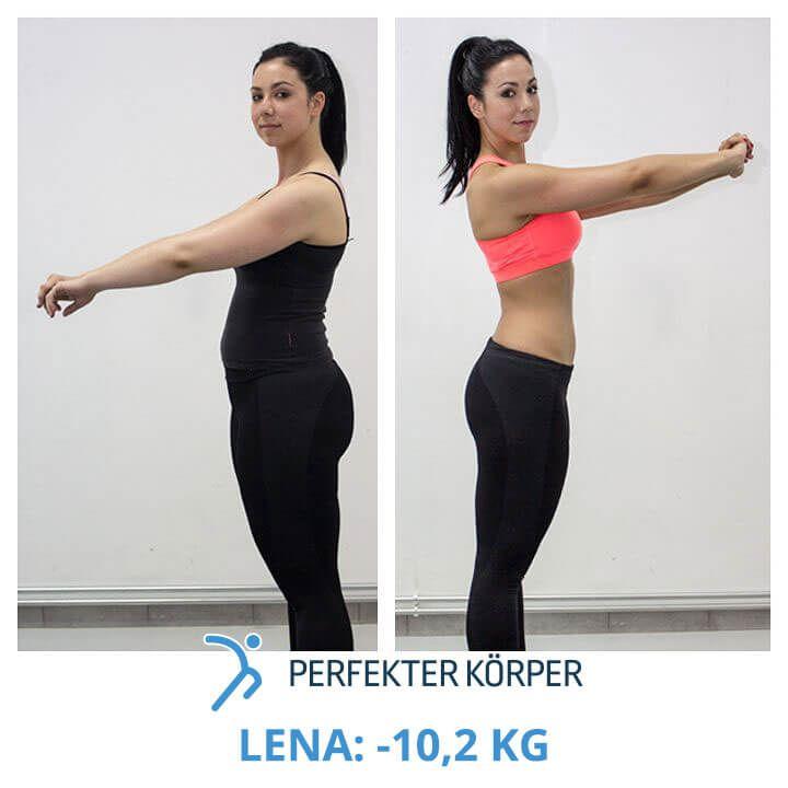 Lena hat es geschafft in 60 Tagen ihre Figur zu festigen und ihre Problemzonen zu straffen!!! (y)  Mit dem Programm Perfekter Körper hat Lena in nur 60 Tagen 10,2 kg sowie rund 11 cm Taillenumfang verloren und das auf eine gesunde, einfache Art und Weise. Im Programm Perfekter Körper sind nämlich alle Komponenten vereint, die man für eine gesunde, langfristige und erfolgreiche Gewichtsabnahme braucht. (y)