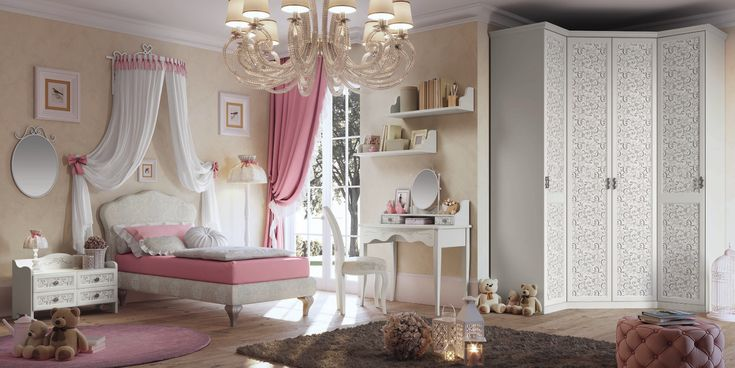 1 di 41 camera in stile shabby chic. Luxury Collection By Effedue Camerette Effedue Camerette News Viva Interiors Childrens Bedrooms Design Bedroom Design Childrens Bedrooms