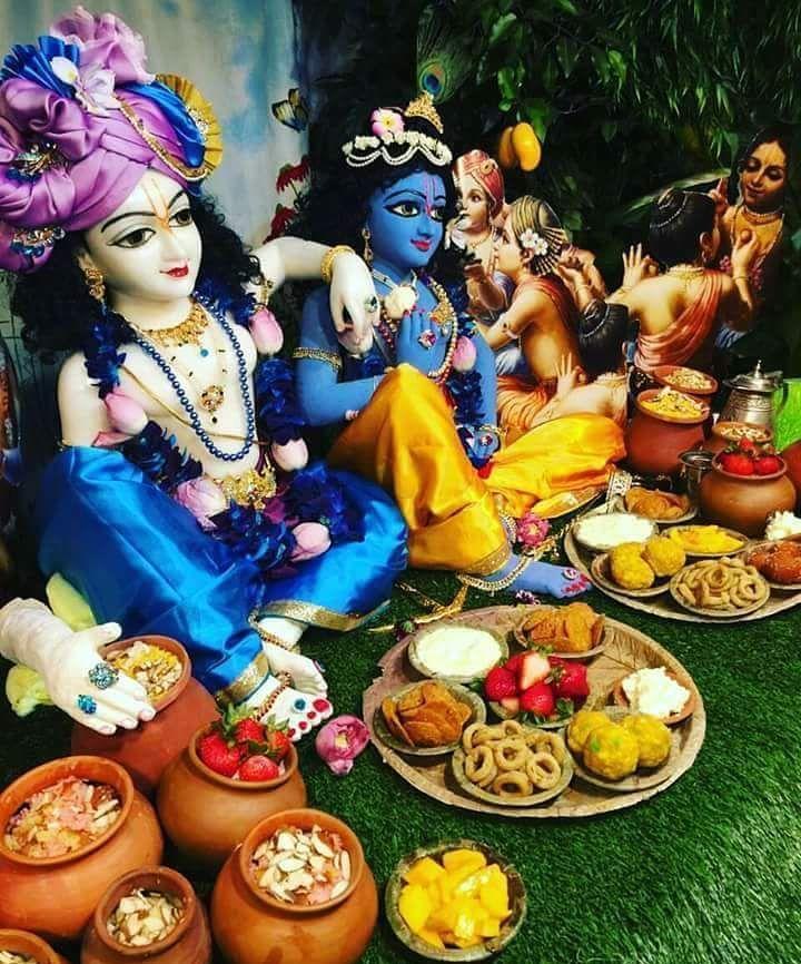 "Hare Krishna On Instagram: ""Lord Krishna Balarama❤️ Hare Krishna"""
