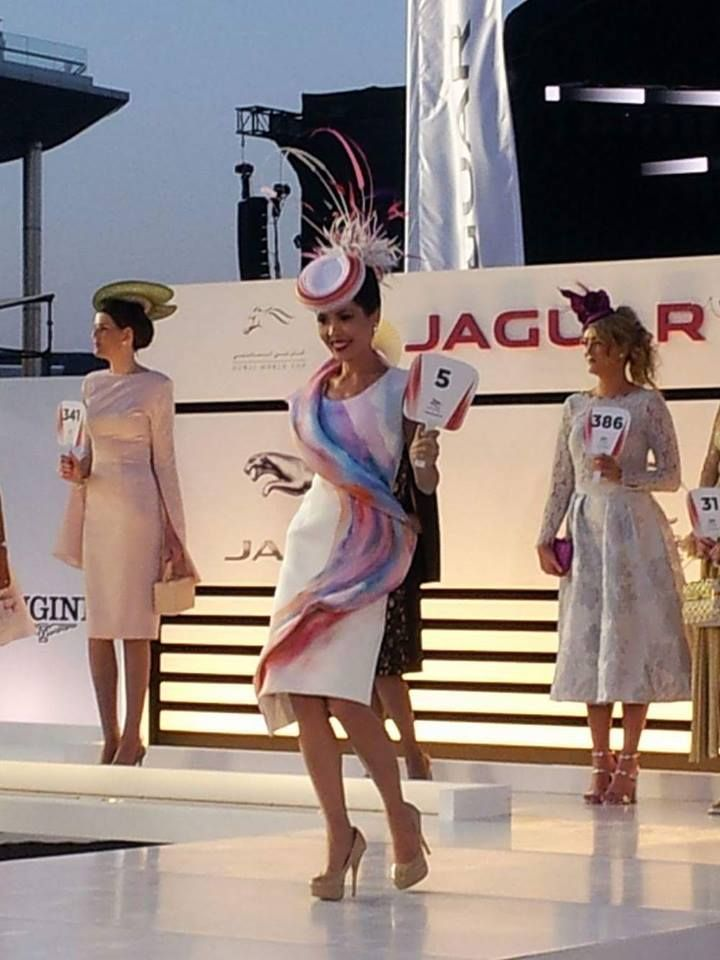 Elis Crewes in finals Jaguar style stakes Dubai world cup 2016