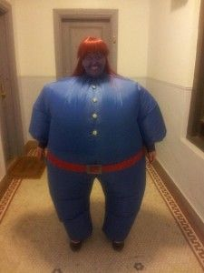 Violet Willy Wonka Costume