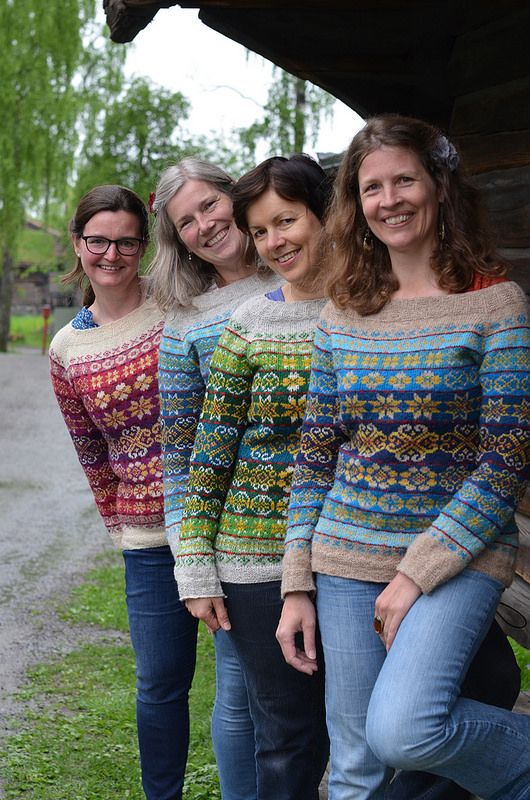Now these are some gorgeous Fair Isle jumpers!!- Next Year in Lerwick  ...such beautiful inspiration