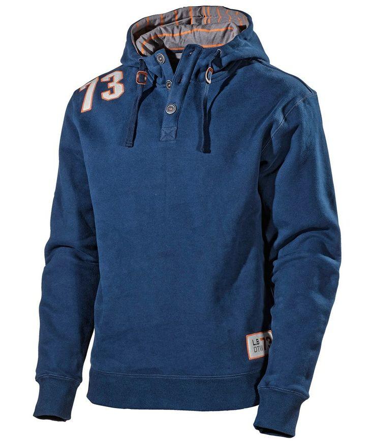L.Brador Sweatshirt m. hætte 658PB, marine