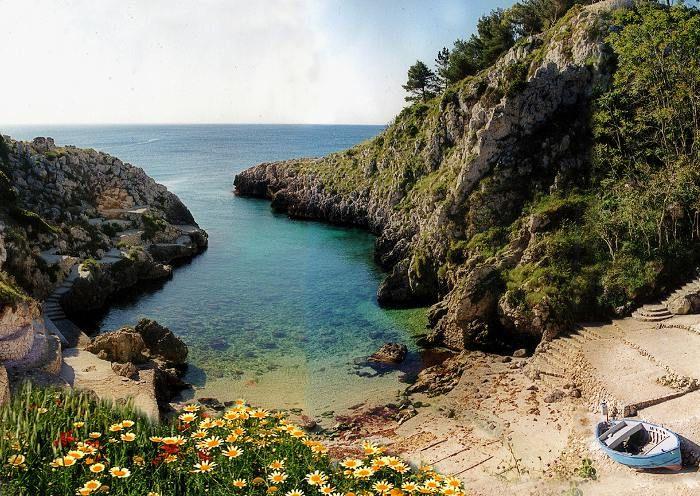 Acquaviva Marittima beach, Salento, Puglia, Italy