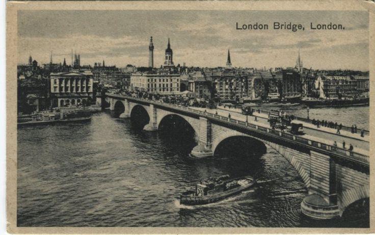 Unknown Publisher Postcard - London Bridge, London | PC02550