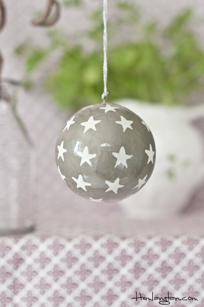 Christmas Ball with stars