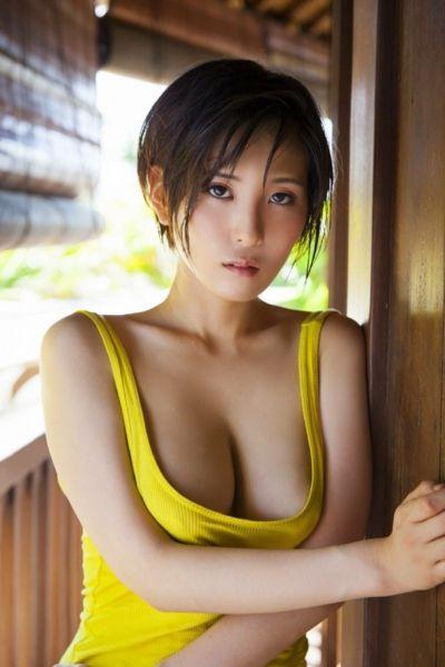 朝比奈祐未【B89 Gカップ多摩美大卒クールビューティーの水着画像】(2 | asian beautys ...