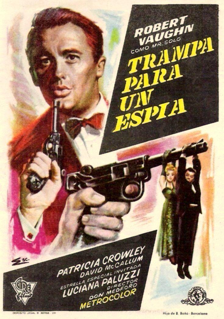 """Trampa para un espía (1964) """"To Trap a Spy"""" de Don Medford - tt0061098"""
