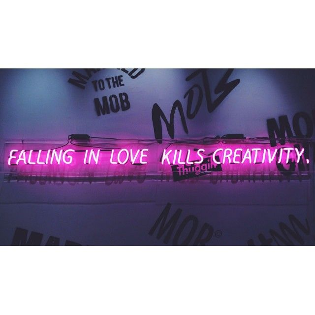 Aint that the truth! Neon Art//Neon LOVE!