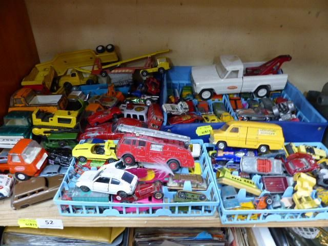 Plenty of vintage toy cars to love here including Dinky, Matchbox, Lesney and Tonka.