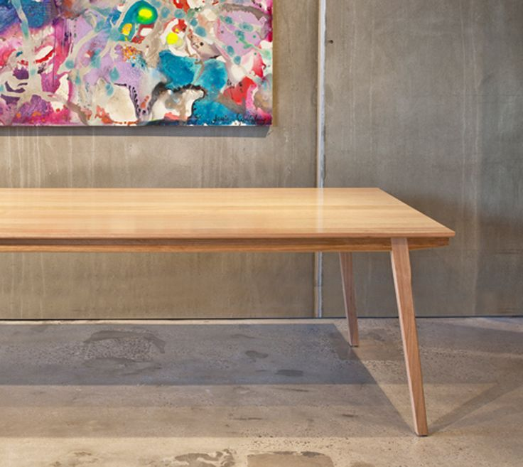 Scandi style. Lily dining table. jimmy by Jimmy Possum.