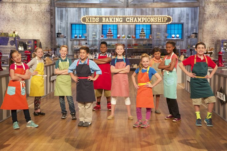 Kid Contestants on Food Network's Kids Baking Championship