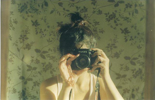 #film #35mm #zenit122 #girl #autoportrait #analog