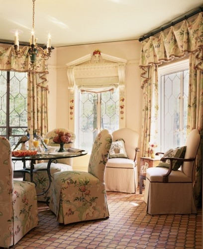 :): Breakfast Rooms, Dining Rooms, Decor Ideas, Country Cottages, Breakfast Nooks, English Cottages, Interiors Design, English Country, Window Treatments